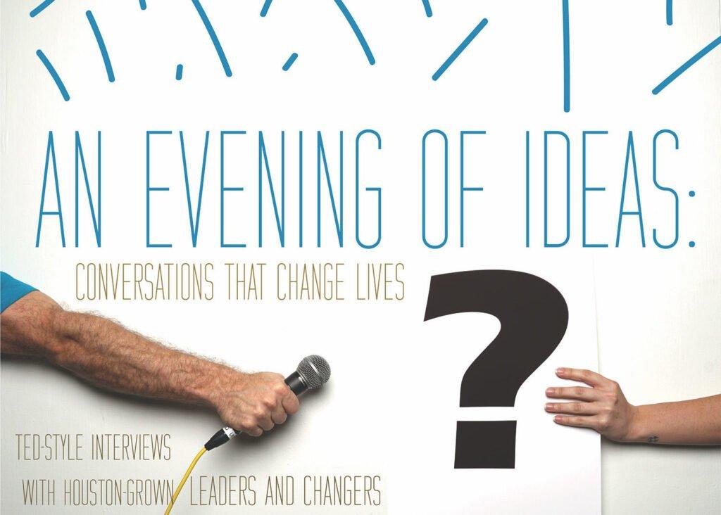 An Evening of Ideas Flier